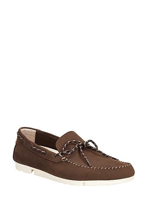 Clarks Süet Loafer Ayakkabı Vizon